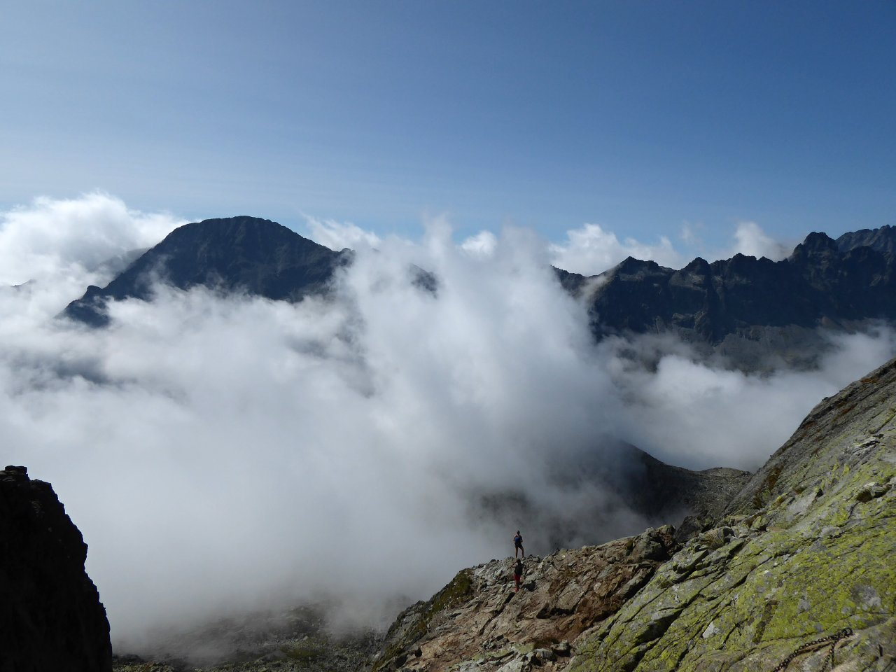 Nezabudnuteľný výhľad z Priečneho sedla, Vysoké Tatry