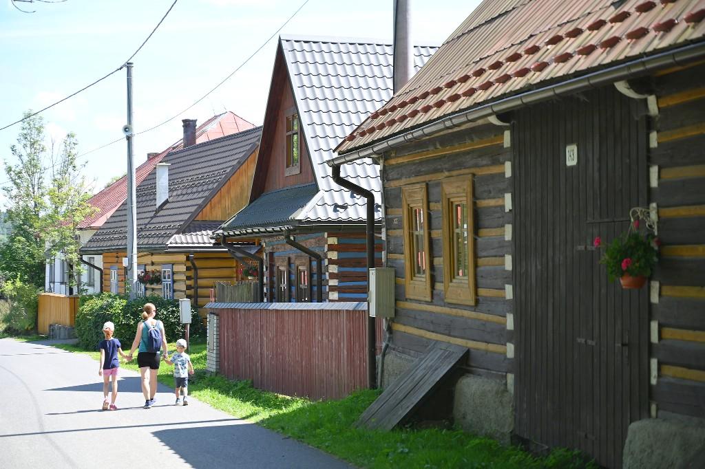 Osturňa, Východné Slovensko