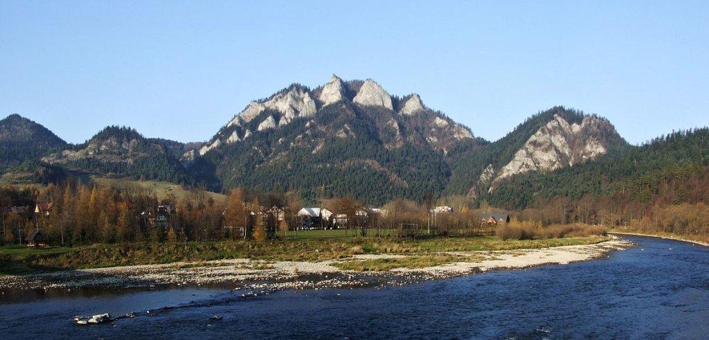 Pieniny, Východné Slovensko