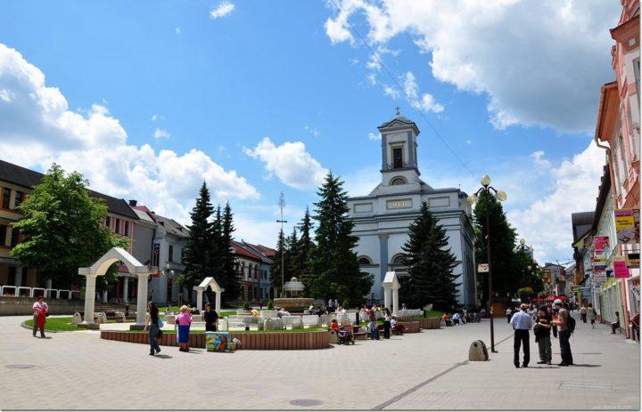 Poprad, Východné Slovensko