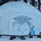 Betlehém zo snehu, Rainerova útulňa, Vysoké Tatry