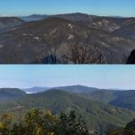 Sivec - panoráma, september a august 2017, východné Slovensko