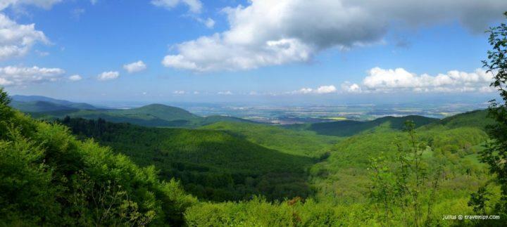 Skárošská vyhliadka, Východné Slovensko