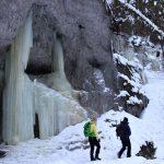 Suchá Belá v zime, Slovenský raj, Východné Slovensko - 3