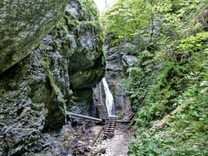 Tiesňava Veľký Sokol, Slovenský Raj, Východné Slovensko