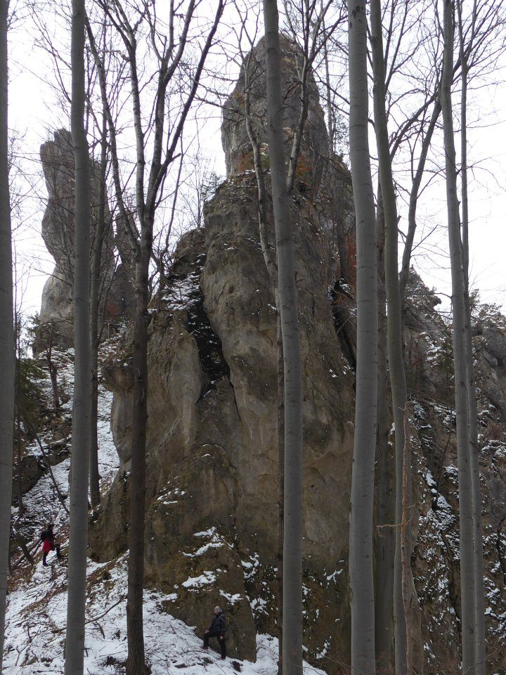Turniská - skaly, Východné Slovensko