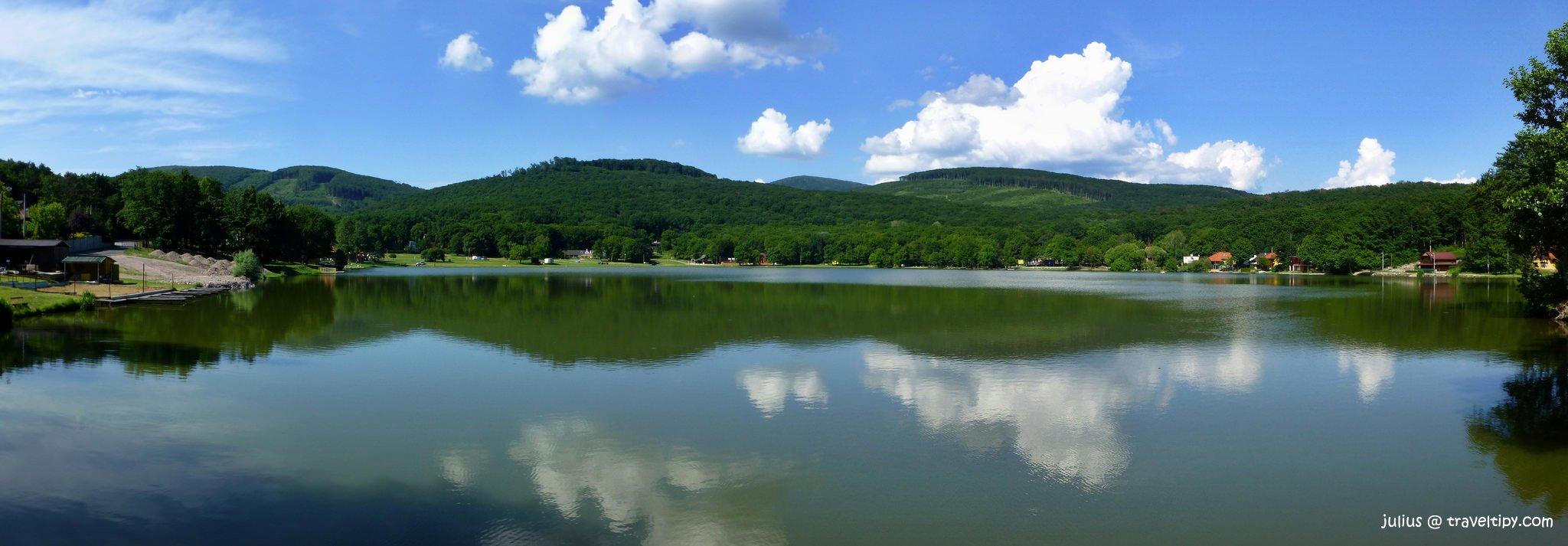 Vinianske jazero, Východné Slovensko