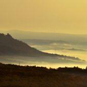Výhľad z hradu Šariš