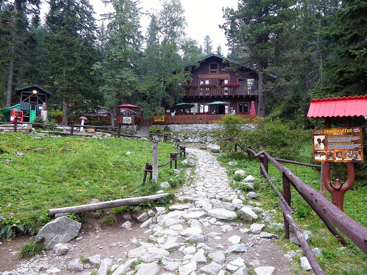 Zamkovského chata, kam na výlet Východné Slovensko