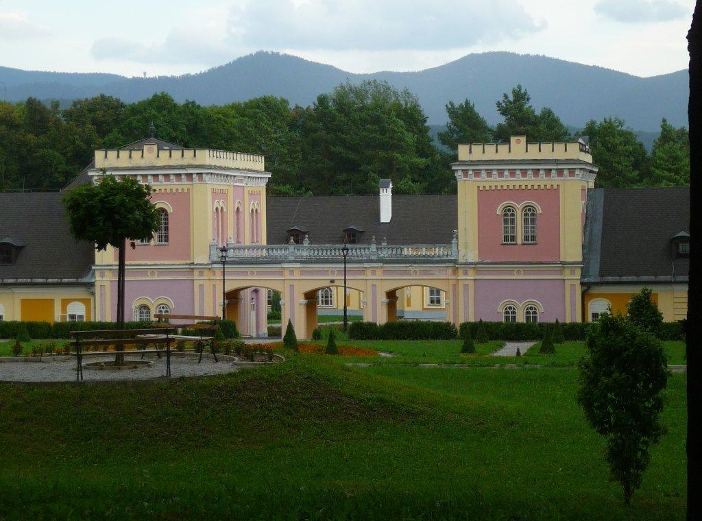 Žehra Hodkovce kaštieľ, Východné Slovensko