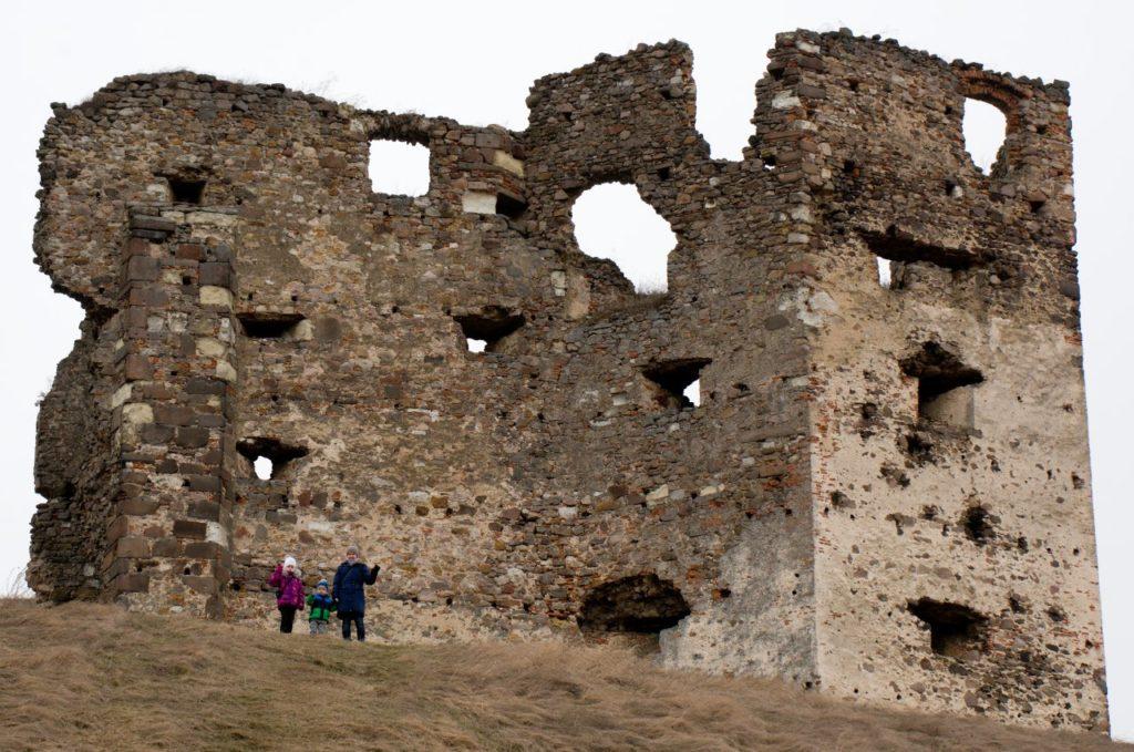 Zrúcanina hradu Veľký Kamenec, Dolný Zemplín, Košický kraj
