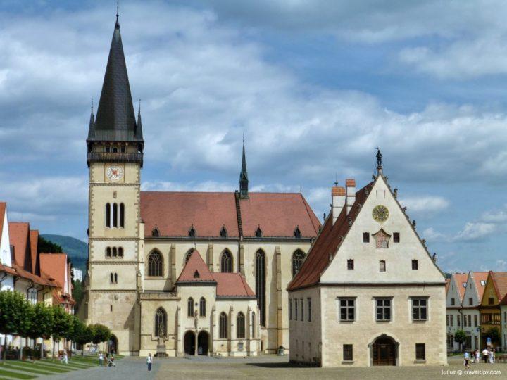 Bardejov, Slovenské pamiatky UNESCO - Slovensko a jeho Kultúrne pamiatky UNESCO