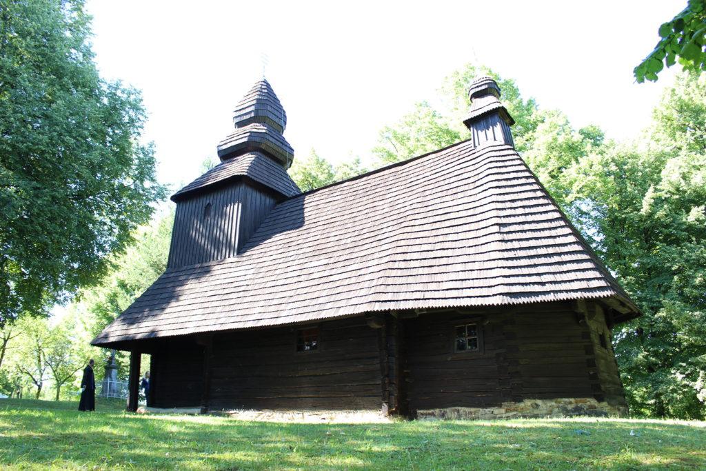 Drevený kostolík Ruská Bystrá, Slovenské pamiatky UNESCO