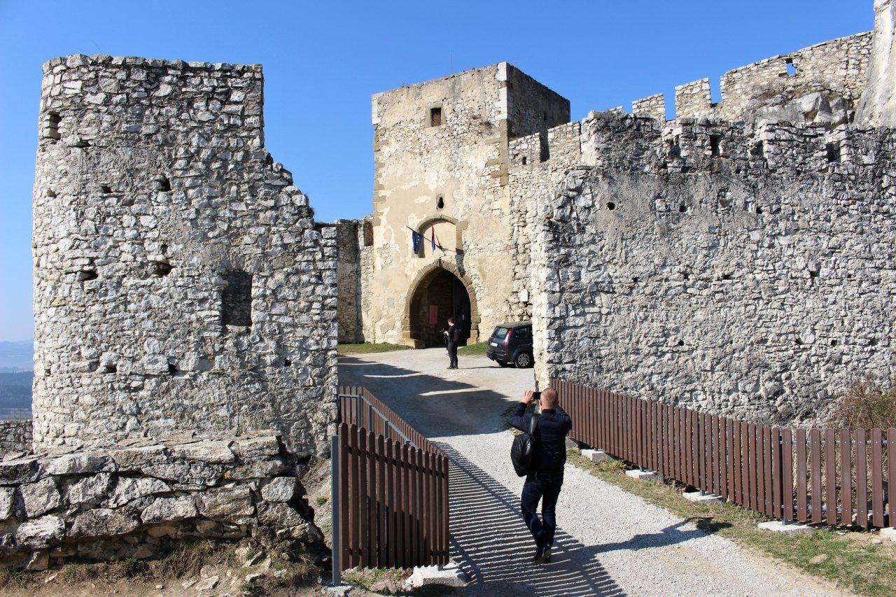 Spišský hrad, Slovenské pamiatky UNESCO – 1