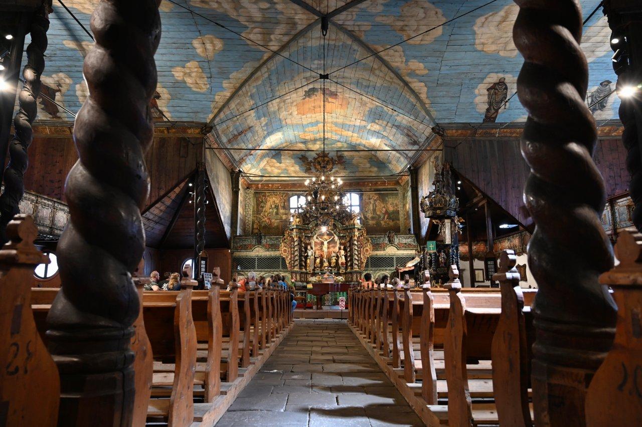 Drevený artikulárny kostol, UNESCO, Kežmarok – 1