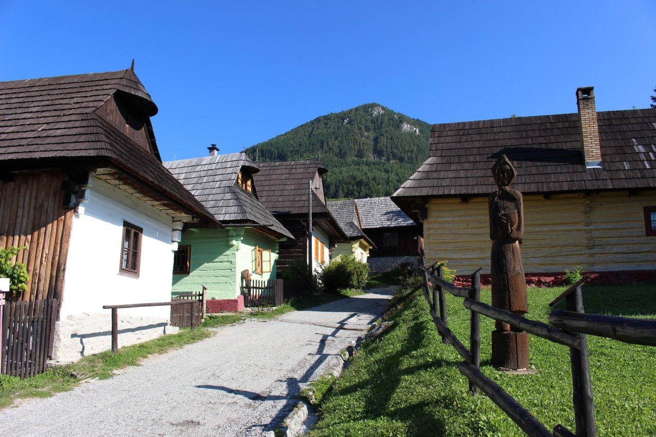 Vlkolínec, Slovenské pamiatky UNESCO – 1