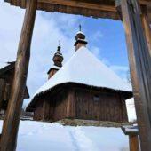 Drevený kostolík Hrabová Roztoka