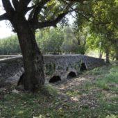 Gotický kamenný most, Leles, Košice región, Slovensko