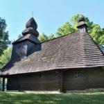 Drevený UNESCO kostolík Ruská Bystrá, Košický kraj, Slovensko