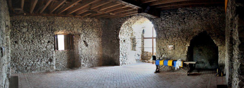 Viniansky hrad, Zemplínska šírava, Košický kraj, Slovensko