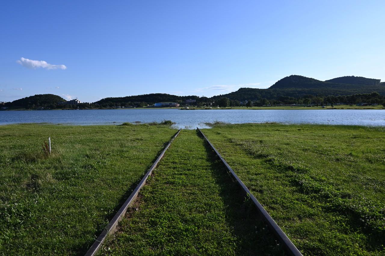 Železnička vedúca do vody, Zemplínska šírava