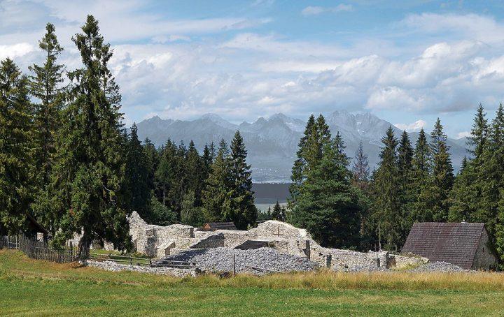 Kláštorisko a výhľad na Vysoké Tatry, Slovenský raj, Košický kraj, Slovensko
