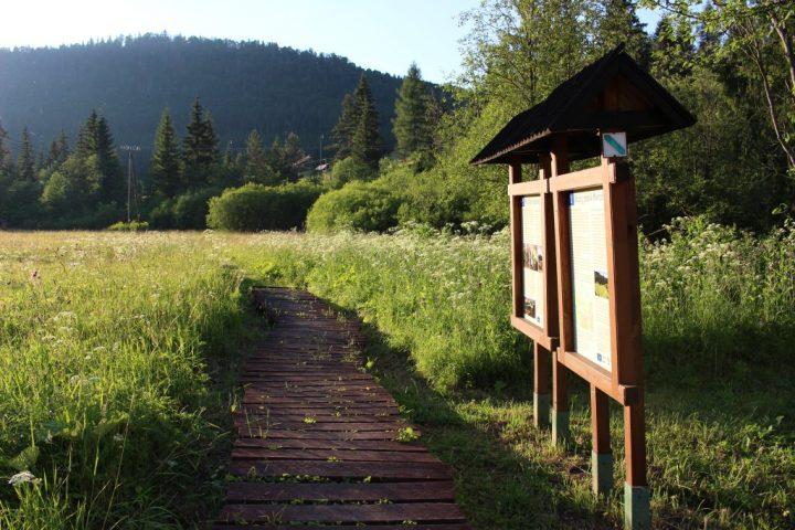 Náučný chodník Mokrade Hnilca, Slovenský raj, Košický kraj, Slovensko