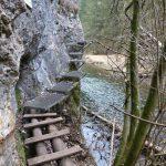 Najrizikovejšie stúpačky, Prielom Hornádu, Slovenský raj, Košický kraj, Slovensko