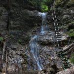 Terasový vodopád, Roklina Piecky, Slovenský raj, Košický kraj, Slovensko