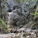 Veľký vodopád, Roklina Piecky, Slovenský raj, Košický kraj, Slovensko