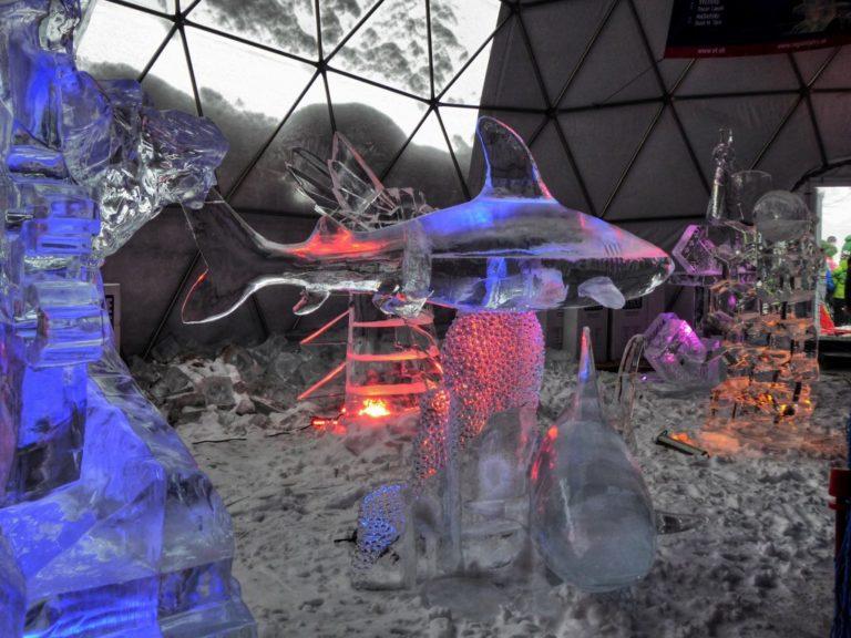 Tatry Ice Master 2018, ľadové sochy, Vysoké Tatry, Slovensko - 10