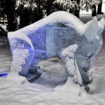 Tatry Ice Master 2018, ľadové sochy, Vysoké Tatry, Slovensko - 2