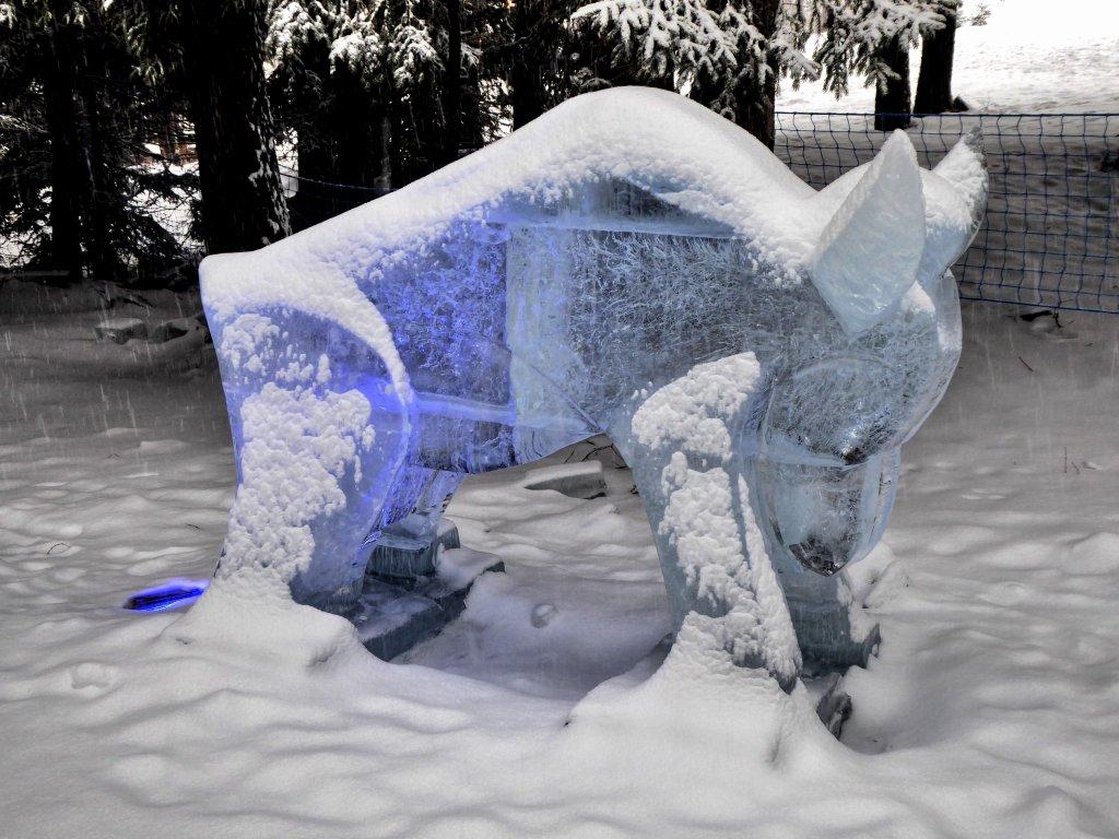 Tatry Ice Master 2018, ľadové sochy, Vysoké Tatry, Slovensko – 2