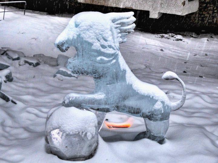 Tatry Ice Master 2018, ľadové sochy, Vysoké Tatry, Slovensko - 5