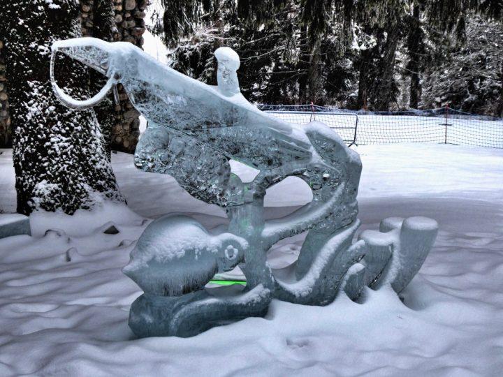 Tatry Ice Master 2018, ľadové sochy, Vysoké Tatry, Slovensko - 6