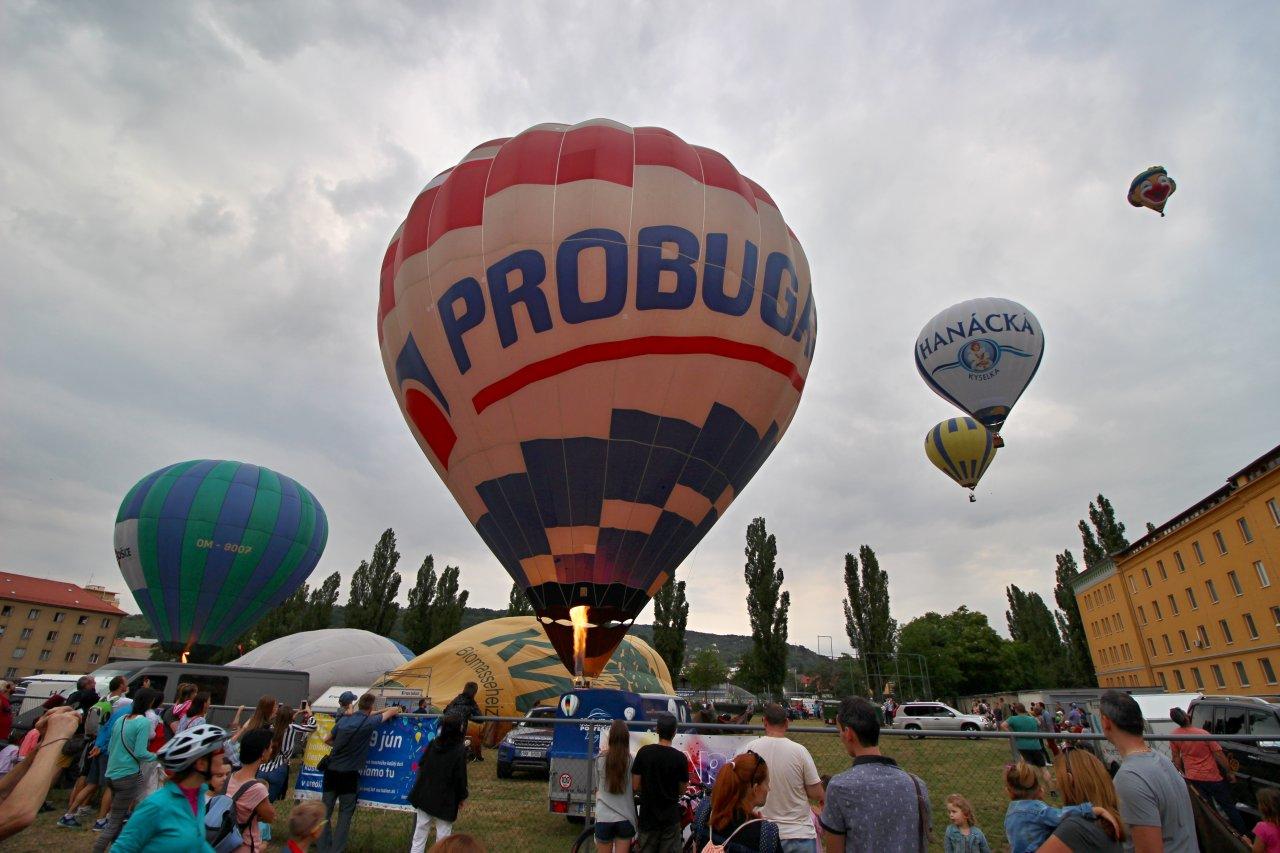 Balónová fiesta 2018, Kam do mesta Košice