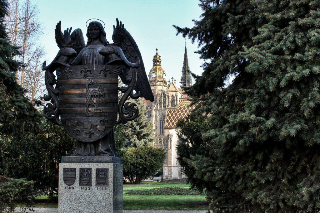 Erb mesta Košice, Kam do mesta Košice