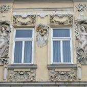 Fasáda domu, Štefánikova 42, Košice