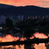 Jazero, Kam do mesta Kosice