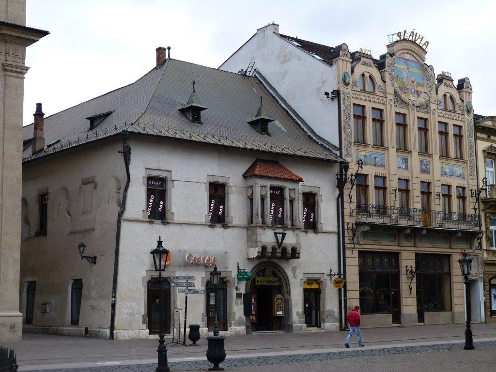 Levočský dom, Kam do mesta Košice