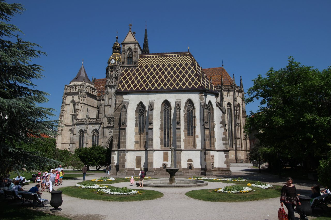 Park pri Kaplnke sv Michala, Kam do mesta Košice