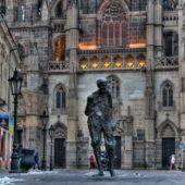 Socha Juliusa Jakobyho zvaná Chodec, Kam do mesta Košice