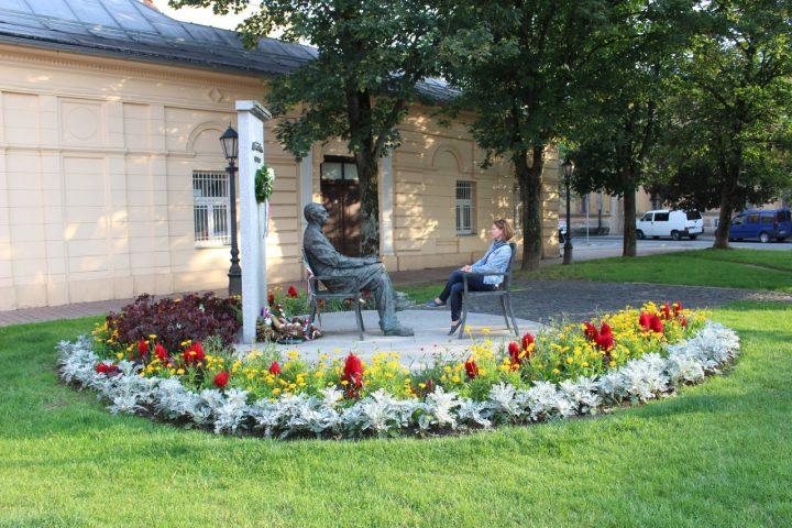 Socha Sándora Máraiho, Kam do mesta Košice