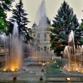 Spievajúca fontána, Kam do mesta Košice