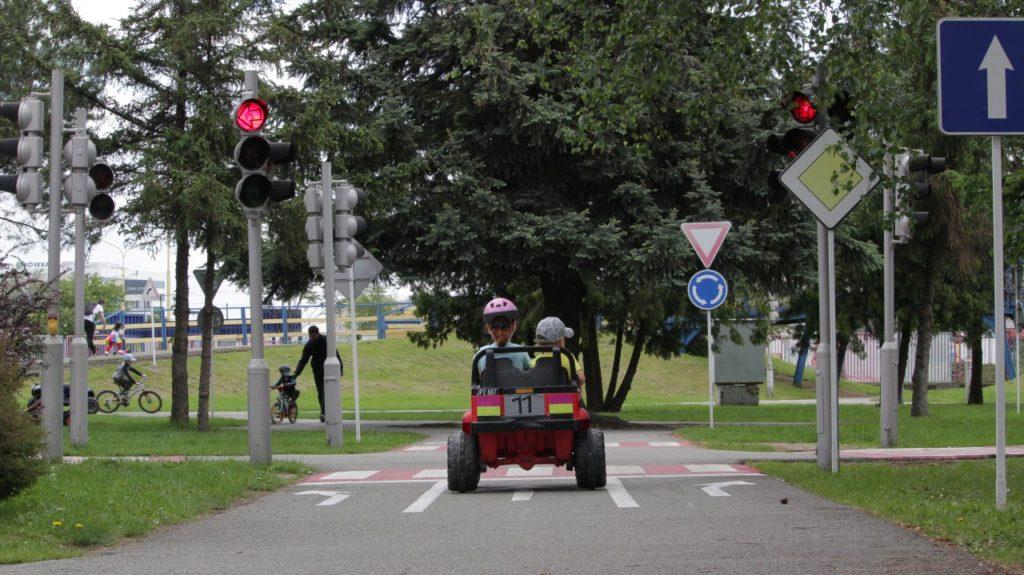 Tsystems detské dopravné ihrisko, Kam do mesta Kosice
