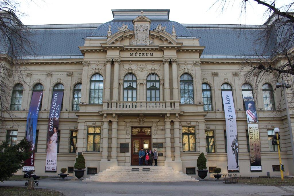 Východoslovenské múzeum, Kam do mesta Košice