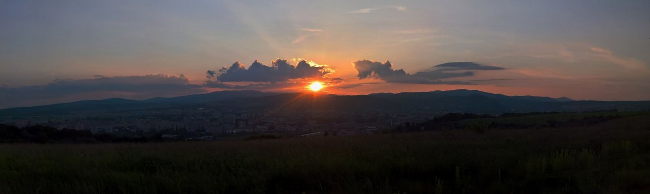 Západ slnka Heringeš, Košice 2