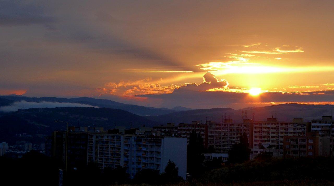 Západ slnka Heringeš, Košice