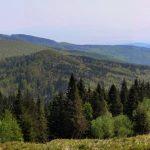 Magnezitárska 60tka - 2018 - výhľad smer Košice z pod Kojšovky, niekde tam by malo byť aj Bradlo, odkiaľ sú fotené Košice s Tatrami!