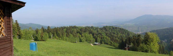 Magnezitárska 60tka 2018 - Výhľad z Krompašského vrchu